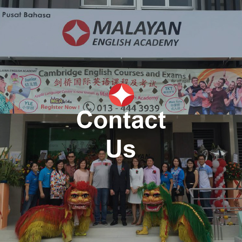 Certificate in English Language Teaching Johor - contact us