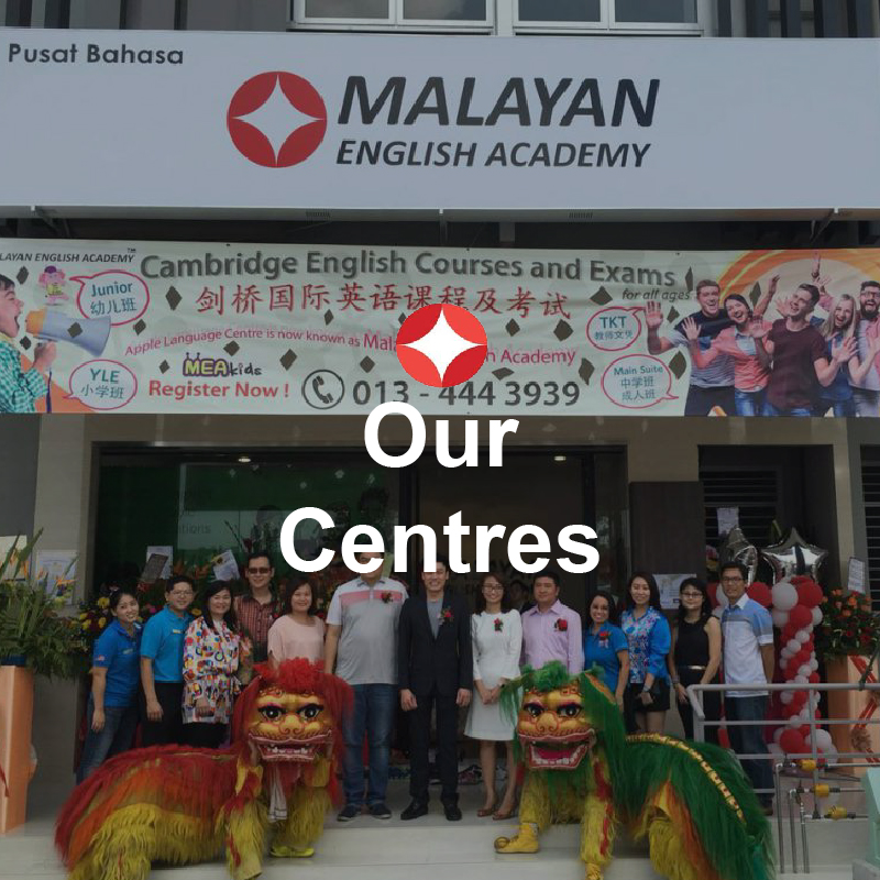 English language centre Johor - our centres